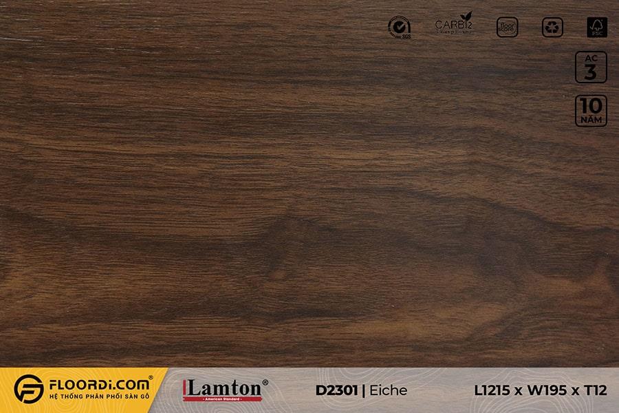 Sàn gỗ Lamton D2301 Eiche – 12mm – AC3