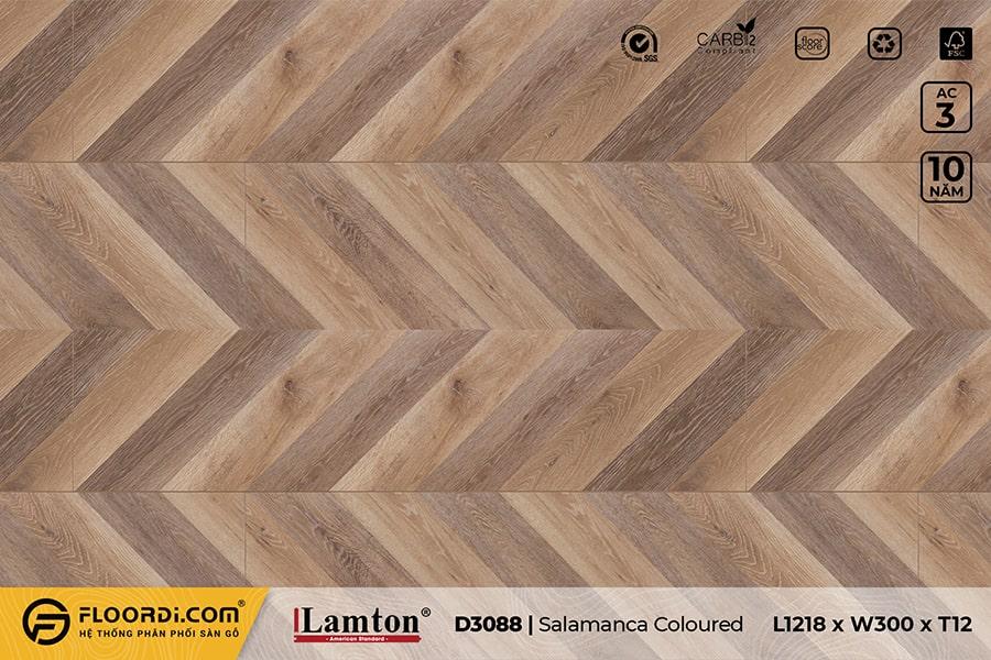 Sàn gỗ xương cá Lamton D3088 Lauzes Chevron 12mm – AC3