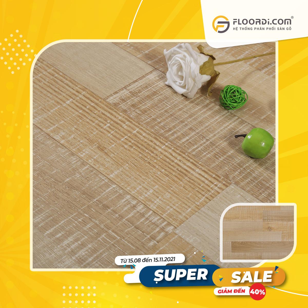 Sàn gỗ Lamton D8802 Lombok Cappuccino 8mm – AC3
