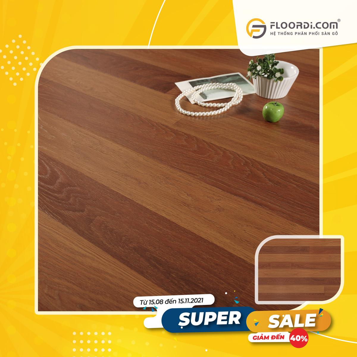 Sàn gỗ Lamton D8805 Jatoba – 8mm – AC3