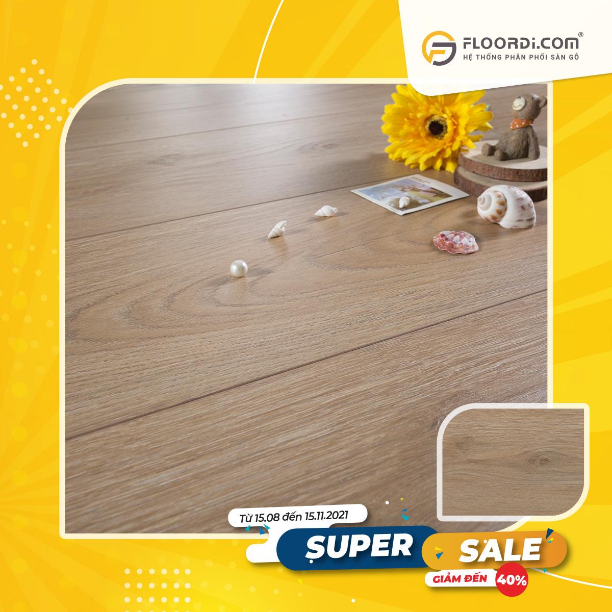 Sàn gỗ Lamton D8808 Taupe – 8mm – AC3