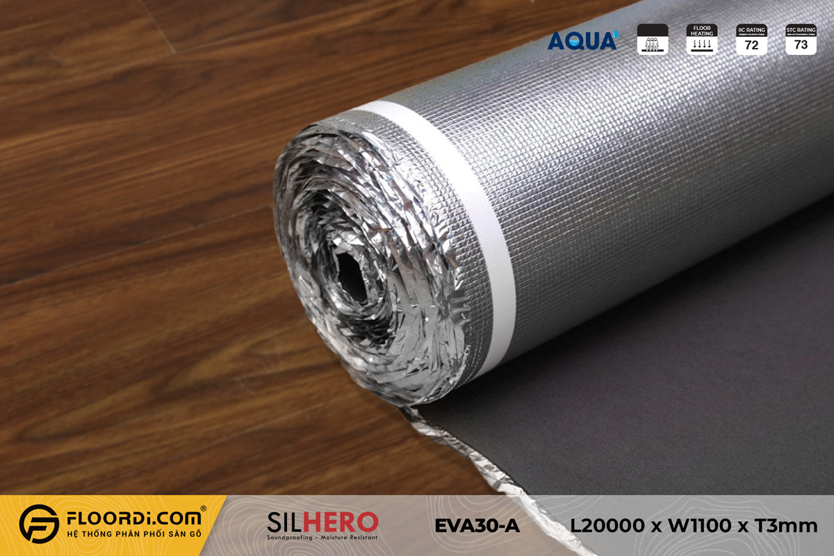 Xốp lót nền cách âm chống ẩm Silhero EVA30-AF – 3mm