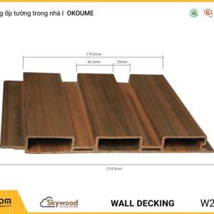 Lam sóng ốp tường, ốp trần trong nhà WD21520O