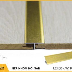 Nẹp nhôm nối sàn AL206G - Gold