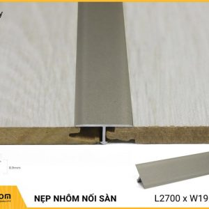 Nẹp nhôm nối sàn AL206GR - Grey