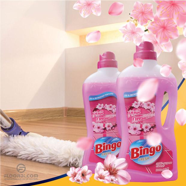 Nước Lau Sàn Đa Năng Bingo Fresh Pink Dreams