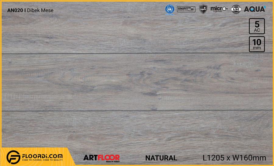 Sàn gỗ Artfloor AN020 – Dibek Mese – 10mm – AC5