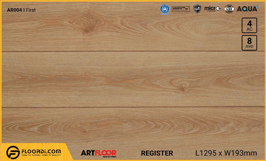Sàn gỗ Artfloor AR004 – Firat – 8mm – AC4