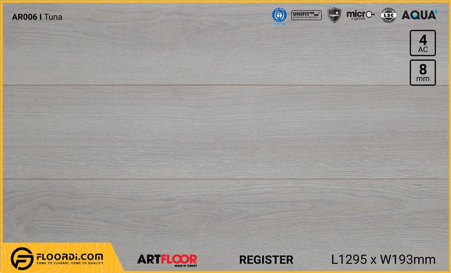 Sàn gỗ Artfloor AR006 – Tuna – 8mm – AC4