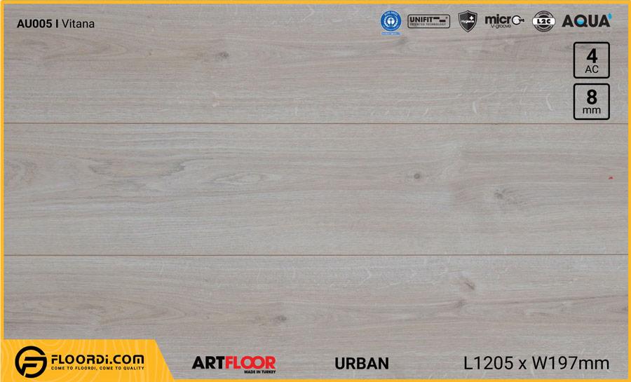 Sàn gỗ Artfloor AU005 – Urban – Vitana – 8mm – AC4