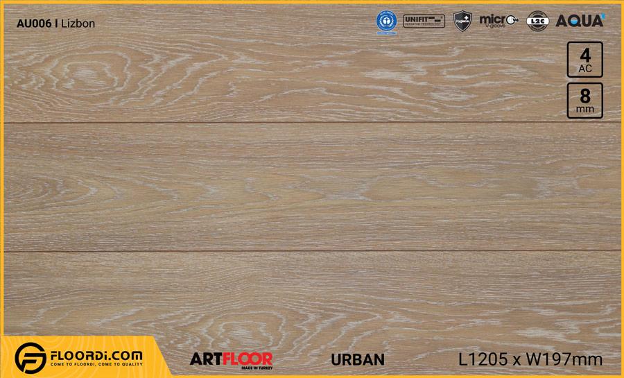 Sàn gỗ Artfloor AU006 – Urban – Lizbon – 8mm – AC4