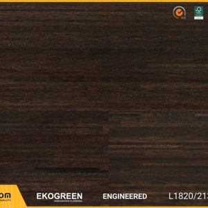 Sàn gỗ Ekofine Mocha - Engineered Ekogreen E6809 Dài 2.13m