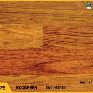 Sàn gỗ Engineered Ekogreen E6801 Jatoba - 13.5mm