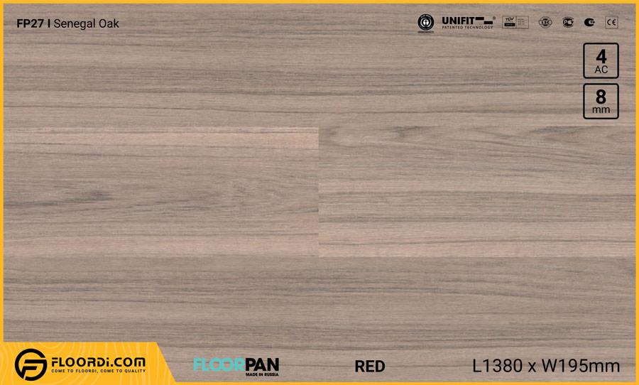 Sàn gỗ Floorpan FP27 Senegal Oak – 8mm – AC4