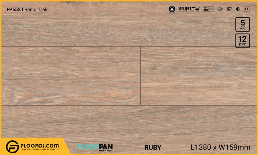 Sàn gỗ Floorpan FP553 Renoir Oak – 12mm – AC5