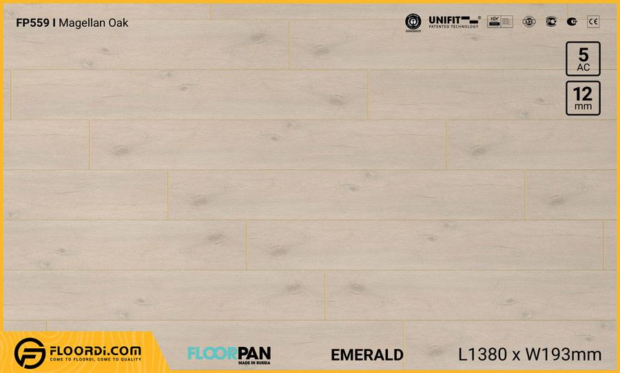 Sàn gỗ Floorpan FP559 Magellan Oak – 12mm – AC5