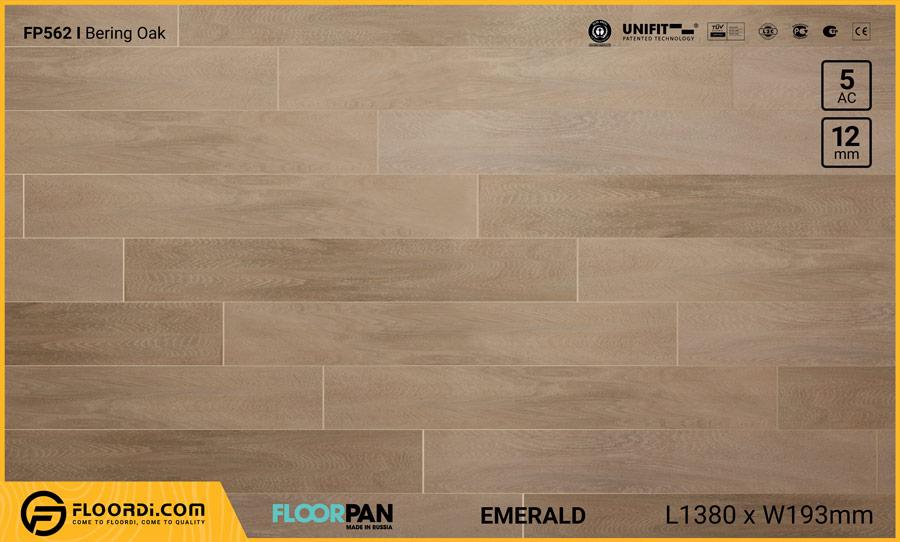 Sàn gỗ Floorpan FP562 Bering Oak – 12mm – AC5