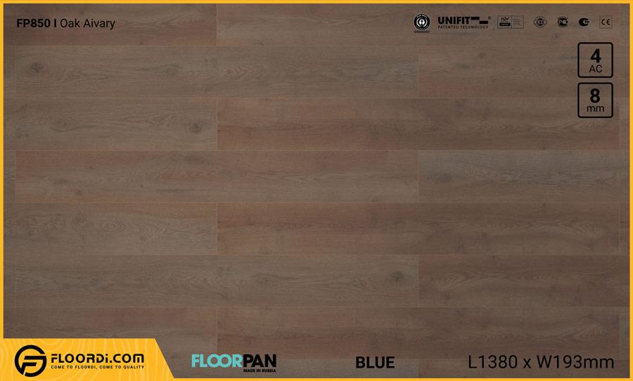 Sàn gỗ Floorpan FP850 Oak Aivary – 8mm – AC4
