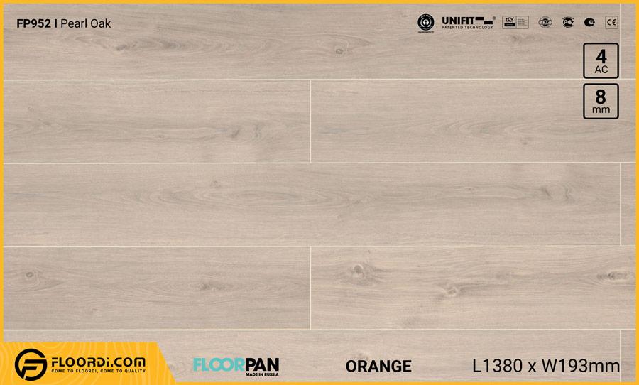 Sàn gỗ Floorpan FP952 Pearl Oak – 8mm – AC4