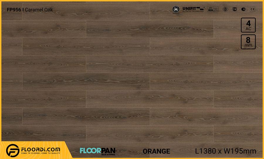 Sàn gỗ Floorpan FP956 Caramel Oak – 8mm – AC4