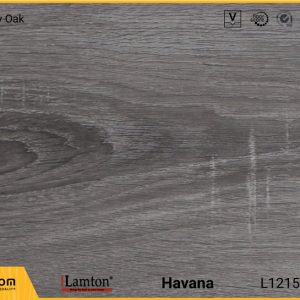 Sàn gỗ Lamton D2302 Plus Grey Oak - 12mm - AC3