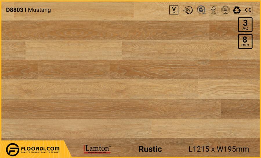 Sàn gỗ Lamton D8803 Mustang 8mm – AC3