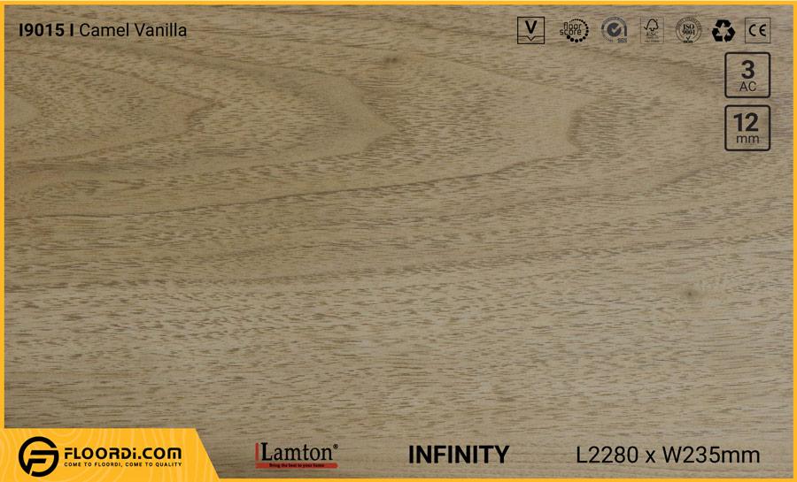 Sàn gỗ Lamton I9015 Camel Vanilla – 12mm – AC3