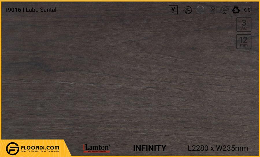 Sàn gỗ Lamton I9016 Labo Santal – 12mm – AC3