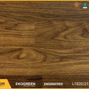 Sàn gỗ óc chó - Engineered Ekogreen E6806 Walnut - 2.13m