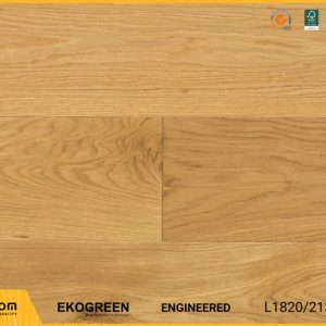 Sàn gỗ sồi Engineered Ekogreen E6802 Oak Natural