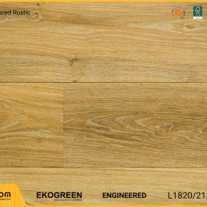 Sàn gỗ sồi Engineered Ekogreen E6803 Oak Smouldered Rustic - 13.5mm