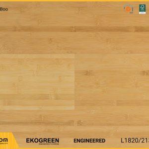 Sàn gỗ tre Engineered Ekogreen E6807 Natural BamBoo 13.5mm
