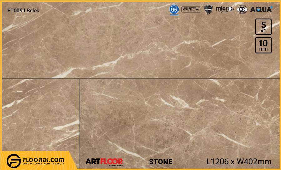 Sàn gỗ vân đá Artfloor FT009 Belek – 10mm – AC5