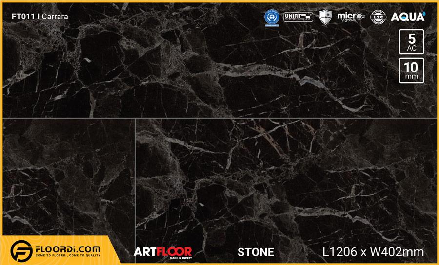 Sàn gỗ vân đá Artfloor FT012 Tunus Mermer – 10mm – AC5