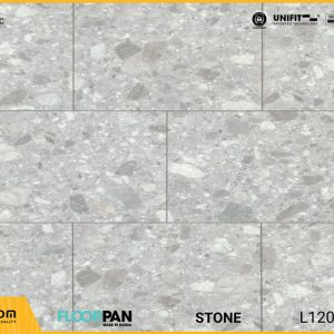 Sàn gỗ vân đá Floorpan FT001 Stone Mozaic - 8mm - AC5
