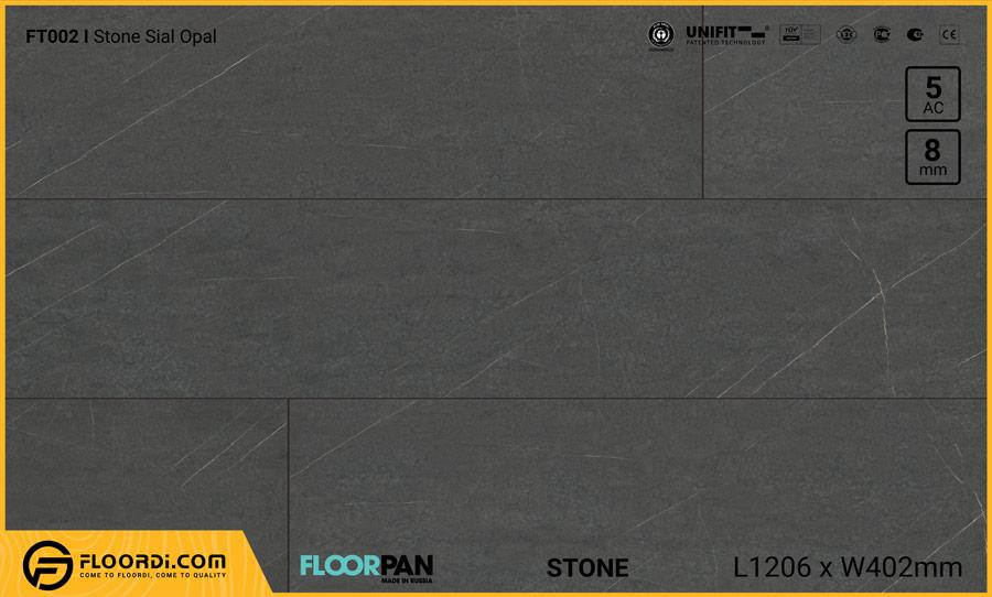 Sàn gỗ vân đá Floorpan FT002 Stone Sial Opal – 8mm – AC5