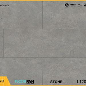 Sàn gỗ vân đá Floorpan FT007 Stone Gray Concrete - 8mm - AC5