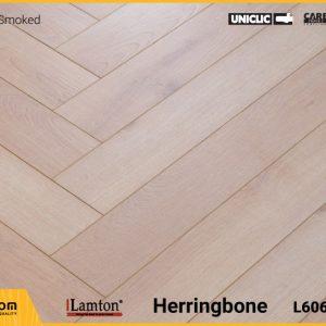 Sàn gỗ Xương Cá Lamton D8190HR Light Smoked - 12mm - AC3