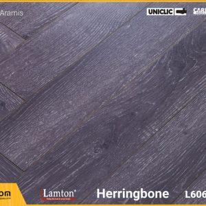 Sàn gỗ Xương Cá Lamton D8215HR Black Aramis - 12mm - AC3