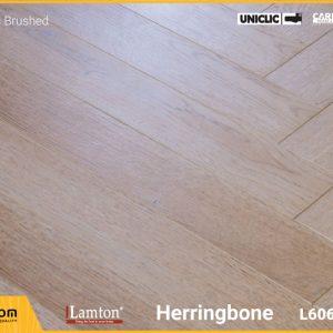 Sàn gỗ xương cá Lamton D8270HR Rustic Brushed - 12mm - AC3