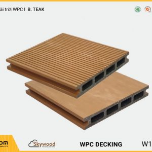 Sàn ngoài trời WPC Skywood B.Teak DK14025B