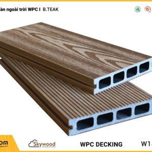 Sàn ngoài trời WPC Skywood - B.Teak - DK14025B-RW01