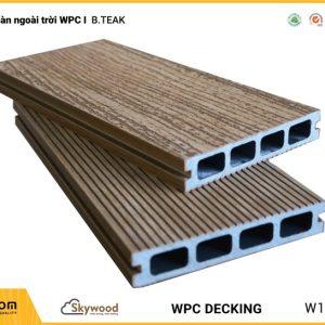 Sàn ngoài trời WPC Skywood - B.Teak - DK14025B-RW02