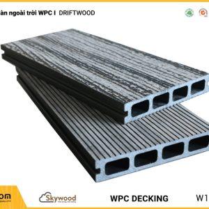 Sàn ngoài trời WPC Skywood - Driftwood - DK14025D-RW02