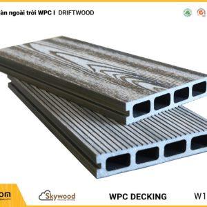 Sàn ngoài trời WPC Skywood - Driftwood - DK14025D-RW01