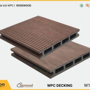 Sàn ngoài trời WPC Skywood Rosewood DK14025R