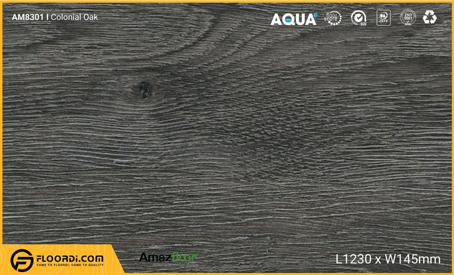Sàn nhựa Amazfloor AM8301 Colonial Oak – 4mm
