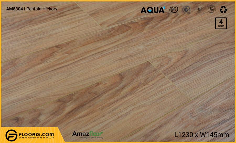 Sàn nhựa Amazfloor AM8304 Penfold Hickory – 4mm