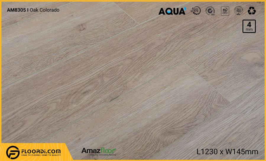 Sàn nhựa Amazfloor AM8305 Colorado Oak – 4mm