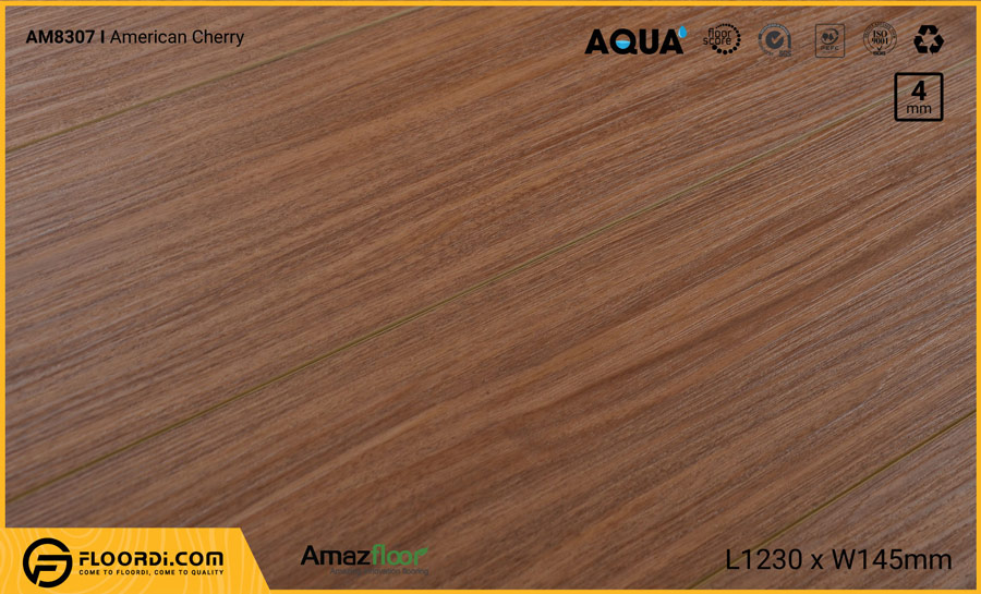 Sàn nhựa Amazfloor AM8307 American Cherry – 4mm